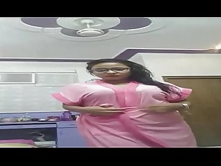 Hot Indian Really Striptease Tease Webcam