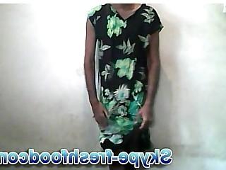 Dress Exotic Indian Ladyboy Mammy Slave