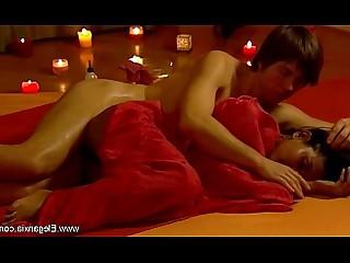 Ass Couple Erotic HD Interracial Lover Massage Oil