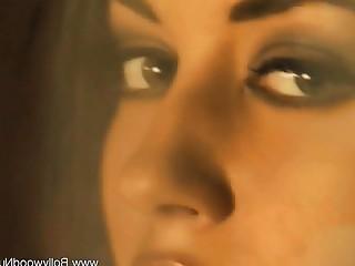 Babe Beauty Brunette Cougar Dancing Erotic HD Indian