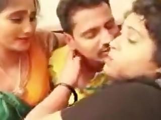 Hot Indian Mature MILF Threesome